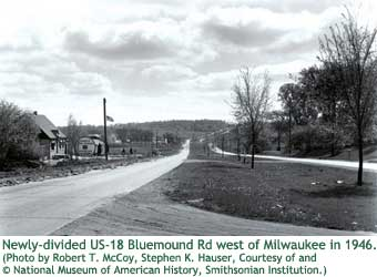 US-18 Bluemound Rd 1946
